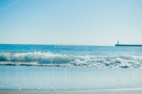波の色の写真素材 [FYI01227092]