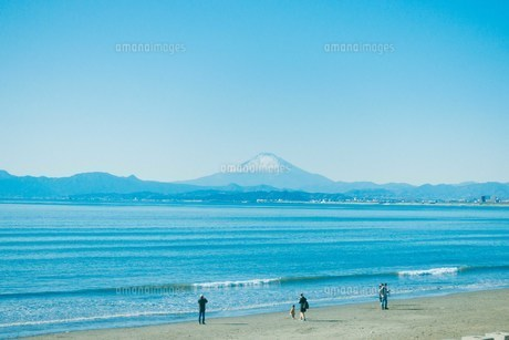海と富士山の写真素材 [FYI01227094]