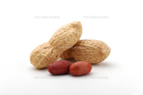 ピーナッツ 落花生の写真素材 [FYI01227359]