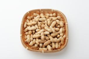 ピーナッツ 落花生の写真素材 [FYI01227361]