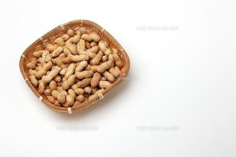 ピーナッツ 落花生の写真素材 [FYI01227364]