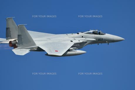 航空自衛隊のF-15戦闘機の写真素材 [FYI01227559]