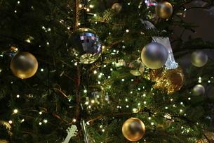 楽器屋さんのクリスマスツリーの写真素材 [FYI01227785]