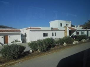 白い家inアフリカ・モロッコの写真素材 [FYI01227943]