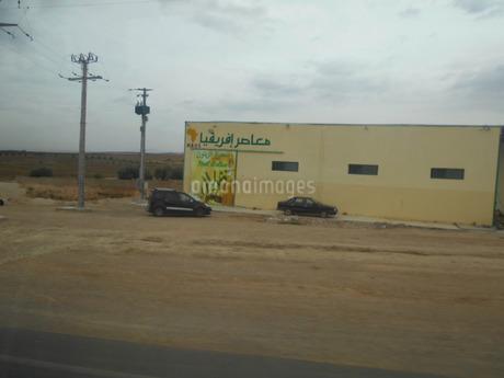 オリーブ関連施設inアフリカ・モロッコの写真素材 [FYI01227970]