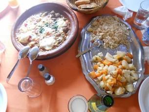 肉団子のタジンinアフリカ・モロッコの写真素材 [FYI01228248]