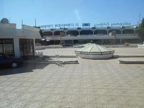 カサブランカの空港inアフリカ・モロッコの写真素材 [FYI01229602]