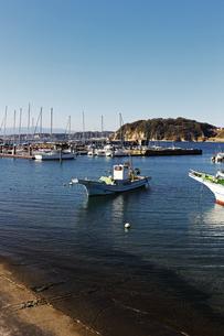 漁港の風景の写真素材 [FYI01229801]