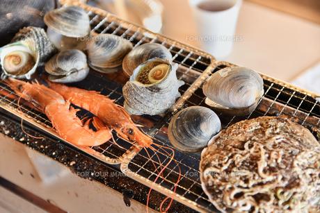 海鮮バーベキューの写真素材 [FYI01229930]