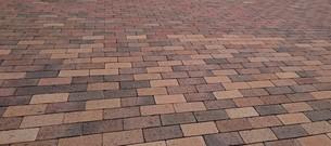 石畳 cobble stone pavingの写真素材 [FYI01229933]