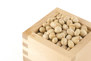 炒り大豆の写真素材 [FYI01230373]