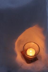 青根温泉雪あかりの写真素材 [FYI01230534]