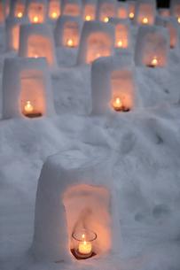 青根温泉雪あかりの写真素材 [FYI01230535]