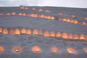 青根温泉雪あかりの写真素材 [FYI01230537]
