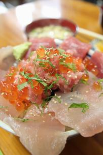 海鮮丼の写真素材 [FYI01230596]