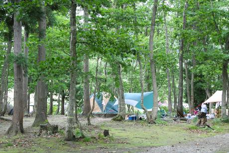 とことん山キャンプ場の写真素材 [FYI01230606]