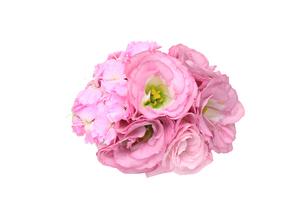 トルコキキョウの花束の写真素材 [FYI01230788]