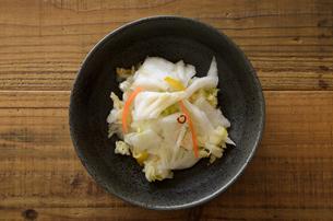 ゆず白菜の写真素材 [FYI01230836]