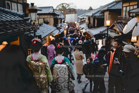 京都の人々の写真素材 [FYI01230878]