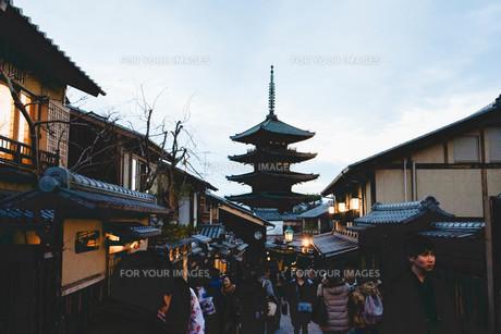 京都の塔の写真素材 [FYI01230879]