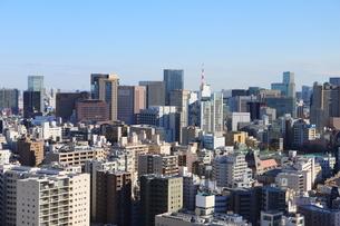 文京区シビックホール25階からの都会を見下ろすの写真素材 [FYI01230957]