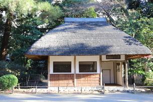 東京ドームに隣接する小石川後楽園という日本庭園の写真素材 [FYI01230973]