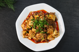 麻婆豆腐の写真素材 [FYI01231147]