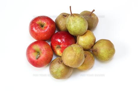洋梨と林檎の写真素材 [FYI01231172]