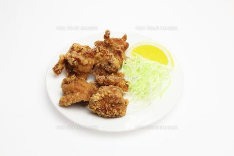 鶏の唐揚げの写真素材 [FYI01231367]