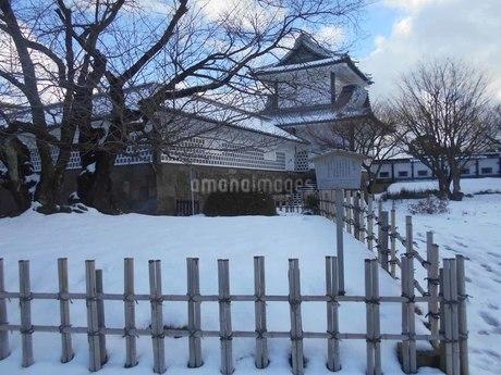 金沢城公園 石川門の写真素材 [FYI01231515]