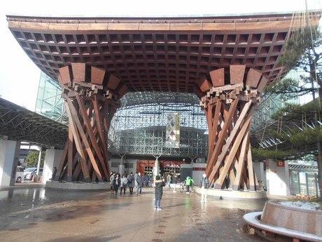 金沢駅の写真素材 [FYI01231536]
