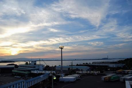 名古屋港の写真素材 [FYI01231558]