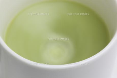 抹茶ラテの写真素材 [FYI01231651]