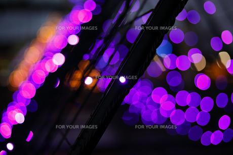 抽象的な背景、丸いボケの写真素材 [FYI01231713]