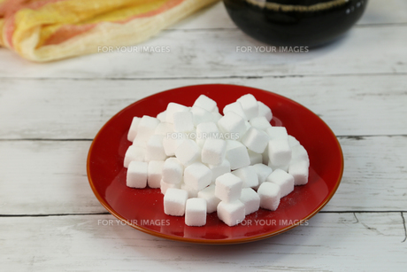 角砂糖の写真素材 [FYI01231909]
