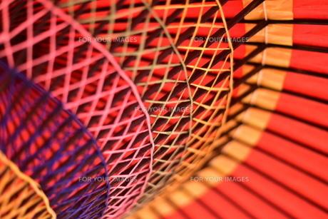 番傘の写真素材 [FYI01232034]