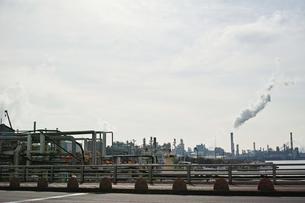 川崎の工業地帯の風景の写真素材 [FYI01232115]
