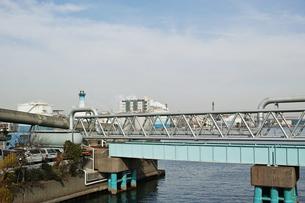 川崎の工業地帯の風景の写真素材 [FYI01232116]