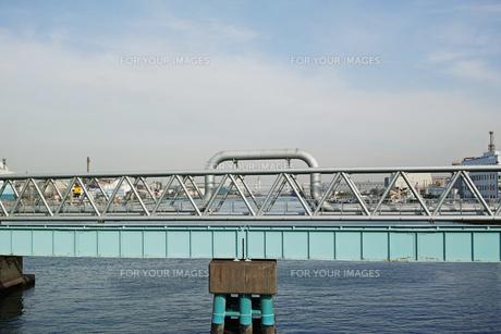 川崎の工業地帯の風景の写真素材 [FYI01232117]