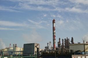 川崎の工業地帯の風景の写真素材 [FYI01232364]