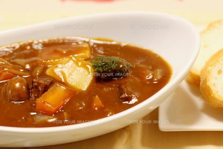 日本の冬の定番の家庭料理 ビーフシチューの写真素材 [FYI01232559]