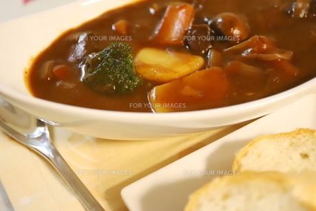 日本の冬の定番の家庭料理 ビーフシチューの写真素材 [FYI01232566]