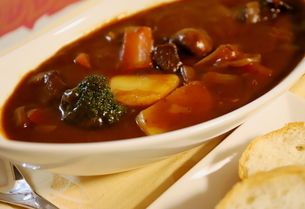 日本の冬の定番の家庭料理 ビーフシチューの写真素材 [FYI01232567]