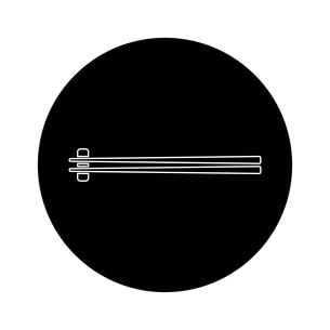 箸 和食のイラスト素材 [FYI01232591]