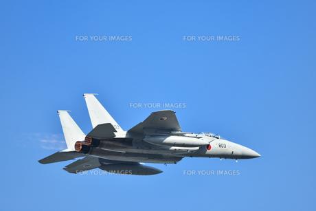 航空自衛隊のF-15戦闘機の写真素材 [FYI01232734]
