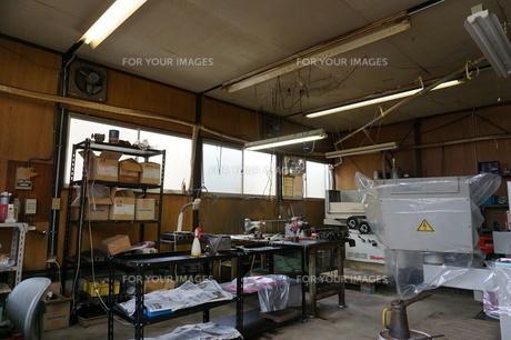 個人経営の工場の写真素材 [FYI01233046]