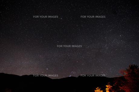 星空の写真素材 [FYI01233070]