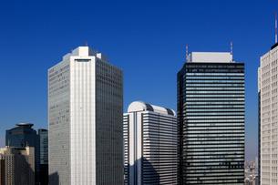 東京新宿の高層ビル群の風景の写真素材 [FYI01233155]