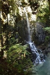 付知峡の不動滝の写真素材 [FYI01233685]