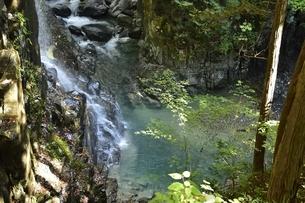 付知峡の不動滝の写真素材 [FYI01233691]